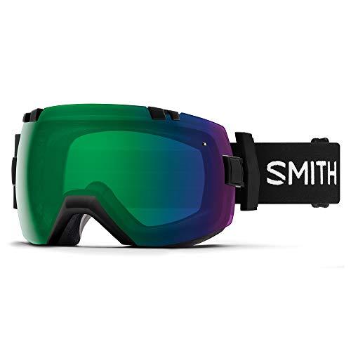 Smith Optics 大人用 I/OX スノーゴーグル ブラック クロームマポップ エブリデイグリーン ミラー/クロマポップ ストーム イエロー フラッシュ