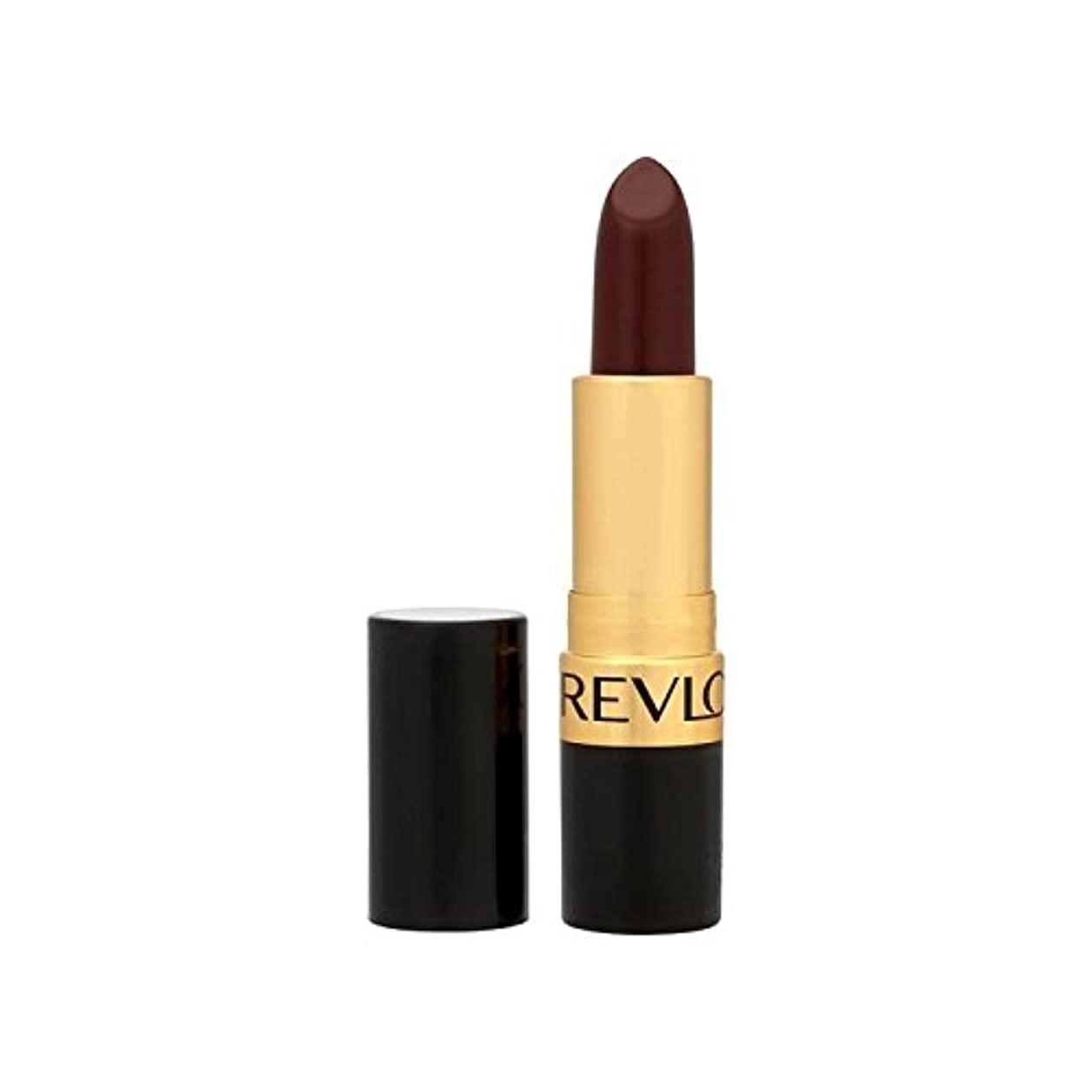 膨らませる潮叙情的なレブロンスーパー光沢のある口紅ブラックチェリー477 x2 - Revlon Super Lustrous Lipstick Black Cherry 477 (Pack of 2) [並行輸入品]
