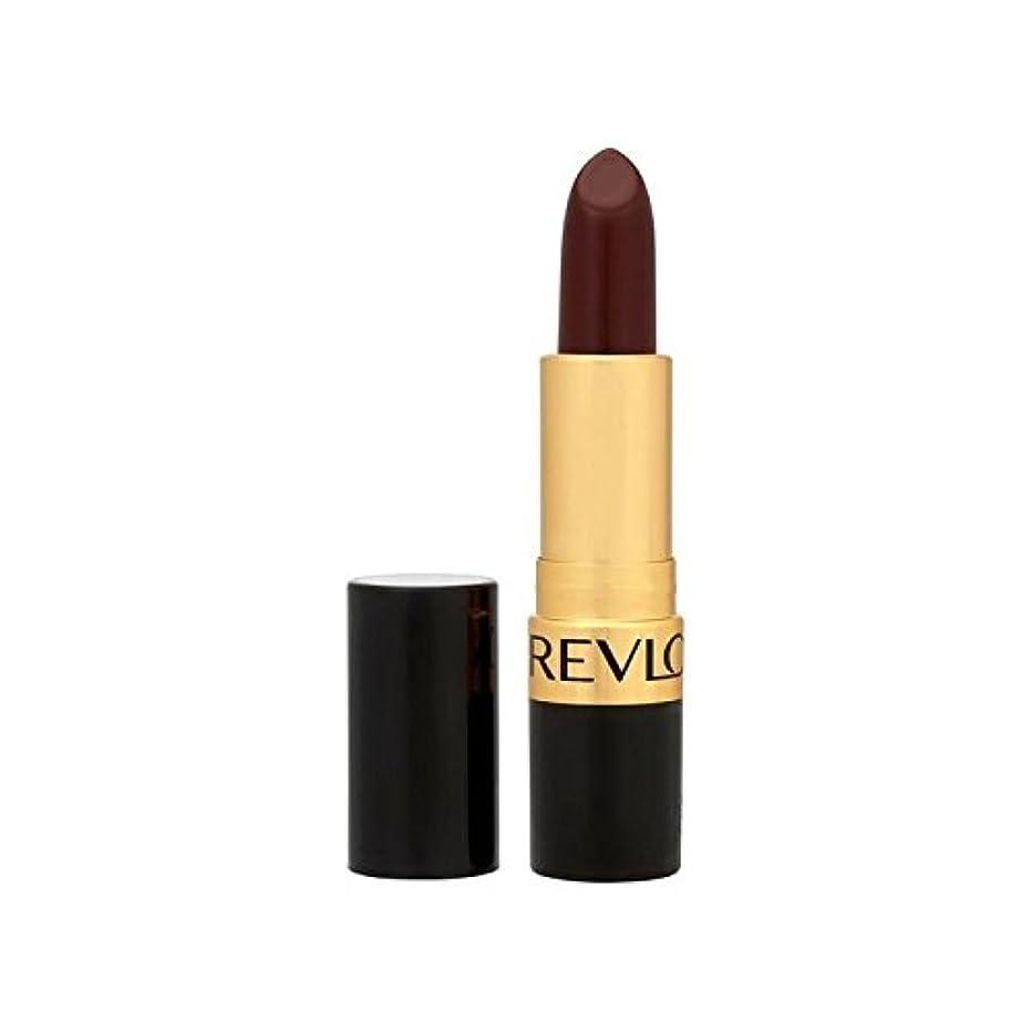 おなじみの会社アルプスRevlon Super Lustrous Lipstick Black Cherry 477 - レブロンスーパー光沢のある口紅ブラックチェリー477 [並行輸入品]