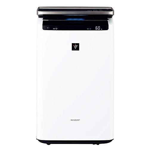 シャープ プラズマクラスターNEXT(50000)搭載 加湿空気清浄機 ホワイト KI-HP100-W