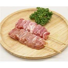 鳥せせり串 40g×10本 焼き鳥 国産鶏 (15cm丸串)(pr)(42520)(焼鳥 やきとり)