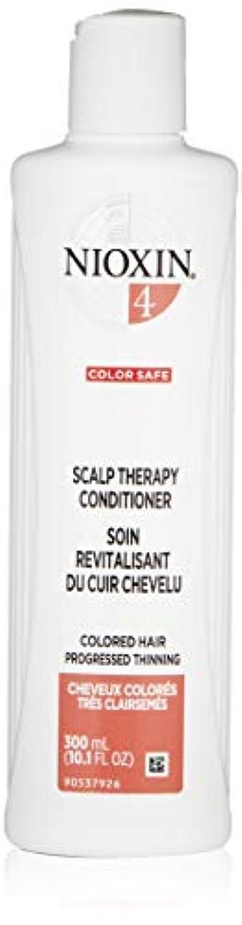 百万症状スチュアート島ナイオキシン Density System 4 Scalp Therapy Conditioner (Colored Hair, Progressed Thinning, Color Safe) 300ml/10.1oz...