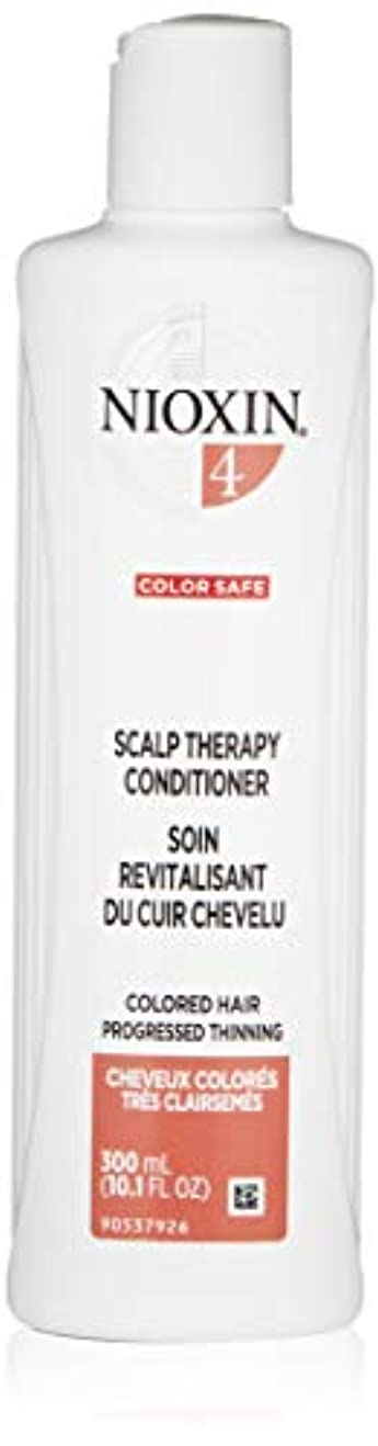 聞く文明よろめくナイオキシン Density System 4 Scalp Therapy Conditioner (Colored Hair, Progressed Thinning, Color Safe) 300ml/10.1oz...