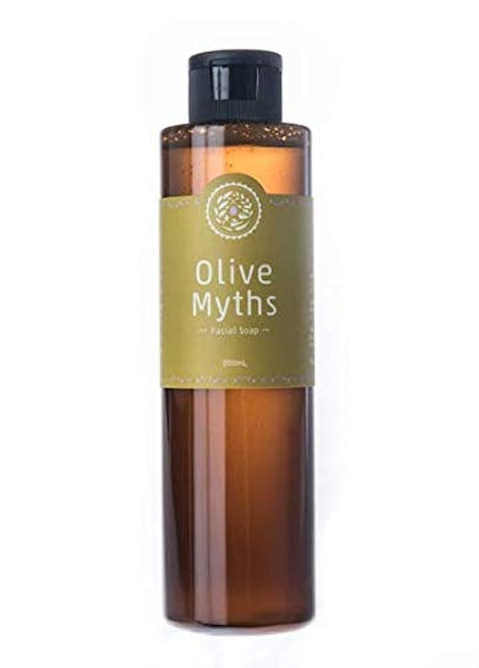 最大銛後ろ、背後、背面(部maestria. OliveMyths 『Olive Myths フェイシャルソープ』200ml MJOM-002