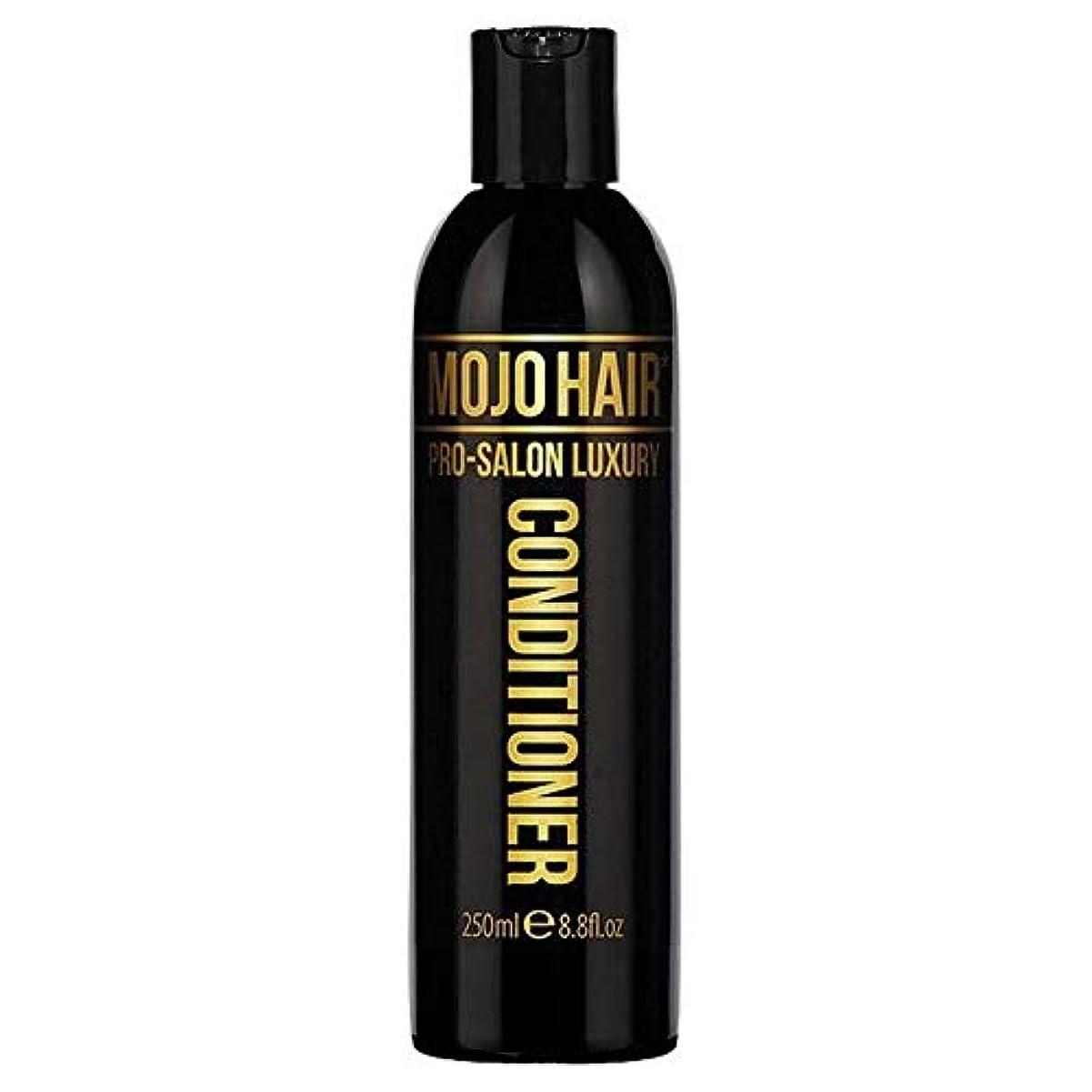 正統派改善株式[Mojo ] 男性プロサロン高級フレグランス250ミリリットルのためのモジョのヘアコンディショナー - MOJO HAIR Conditioner for Men Pro-Salon Luxury Fragrance...