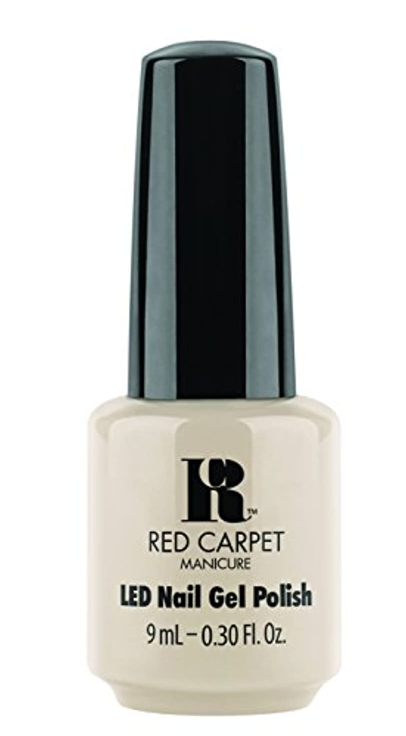 フレッシュ液化する計り知れないRed Carpet Manicure - LED Nail Gel Polish - Sneak Peek - 0.3oz/9ml