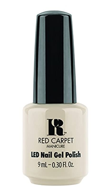 枕テーブルを設定する換気するRed Carpet Manicure - LED Nail Gel Polish - Sneak Peek - 0.3oz/9ml