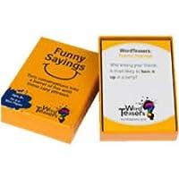 Wordティーザー面白いことわざカードゲーム、ゲーム、パーティゲーム、家族のギフト、ギフトfor Her