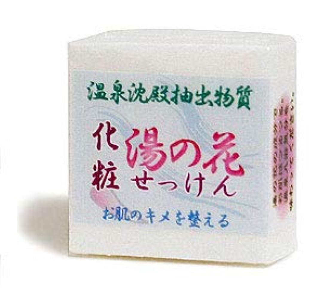 卑しいつらい純粋に湯の花化粧石鹸 ハーフサイズ