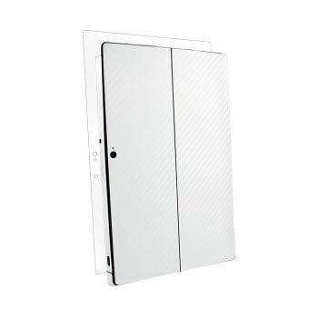 BodyGuardz Carbon Fiber Skin(カーボンパターン 保護スキンシール) for Microsoft Surface Pro (ホワイト)