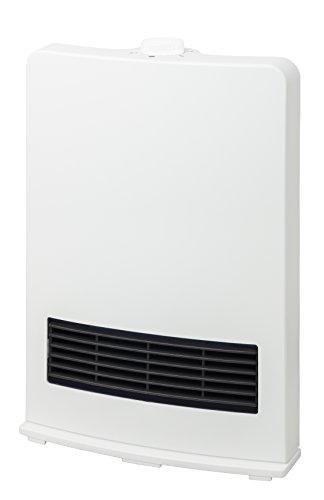 山善(YAMAZEN) セラミックヒーター(1200W/600W 2段階切替) ホワイト DF-J121(W)