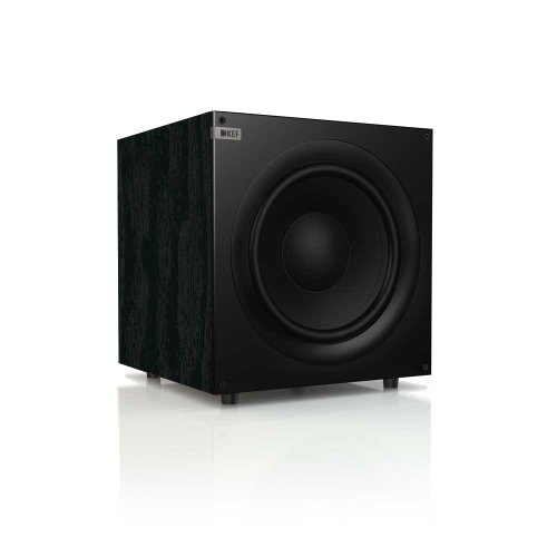 RoomClip商品情報 - Q400B  Front Firing Powerful Subwoofer サブウーファー KEF社 Black Ash【並行輸入】