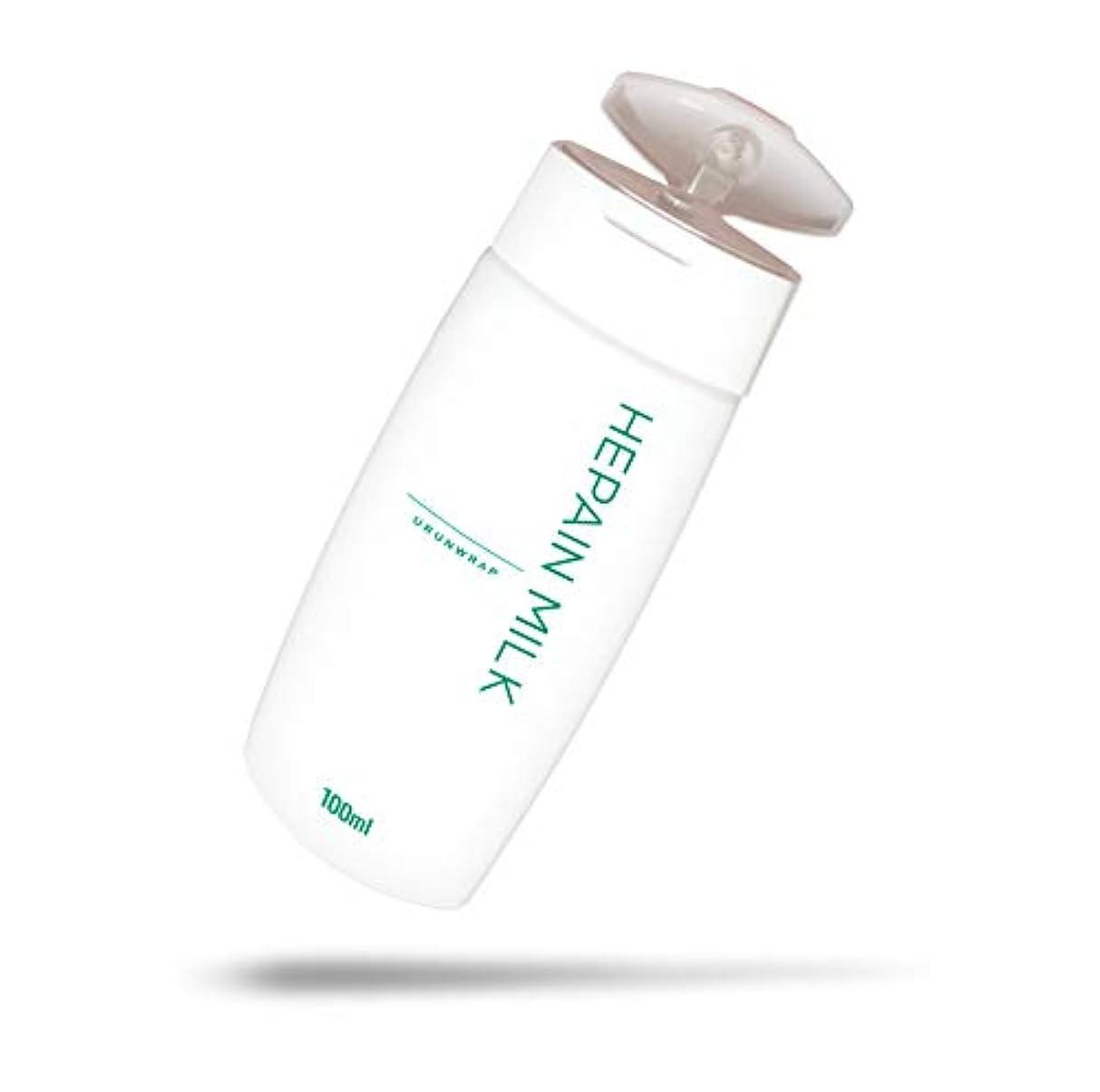 喜ぶに負けるセクタウルンラップ 乳液 へパインミルク ヘパリン類似物質 薬用 ローション タイプ[日本製 医薬部外品 乾燥肌用 ボディミルク 顔 からだ] 100ml