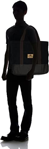 Carry All Bag with Zip L: Black