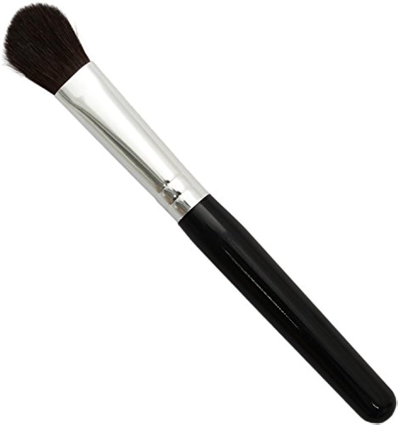 したい信頼性のある儀式熊野筆 メイクブラシ KUシリーズ アイシャドウブラシ 大 馬毛