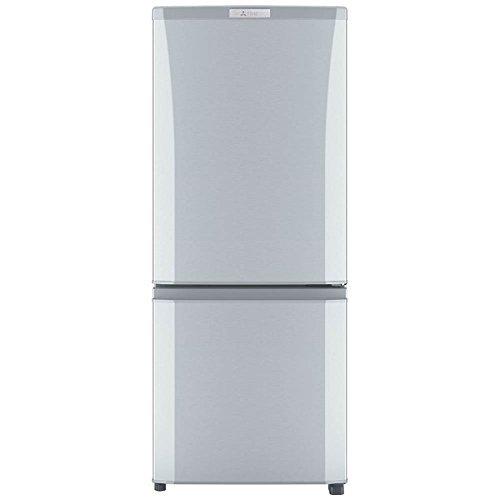 三菱 冷蔵庫 ボトム冷凍室 右開き 146L ピュアシルバー ...