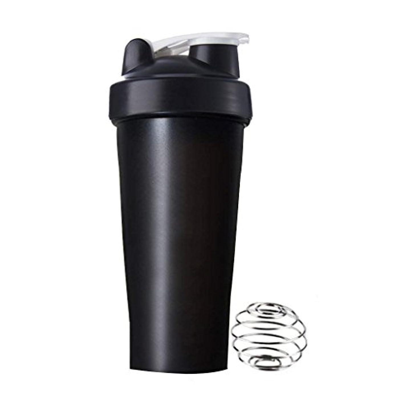 織る書士シャックルプロテインシェイカー 直飲み プラスチックウォーターボトル ジム シェーカーボトル 600ml