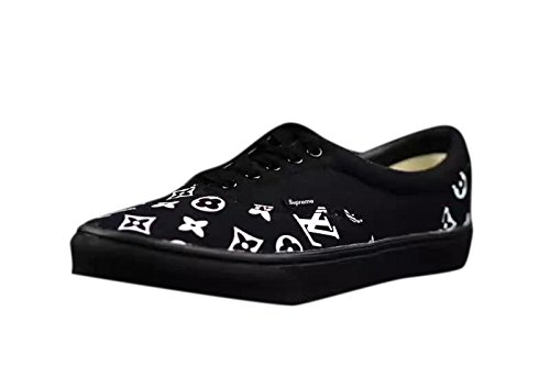 Vans バンズ x シュプリーム Supreme x Louis Vuitton コラボ 大人気 メンズ レディース スニーカー [並行輸入品]