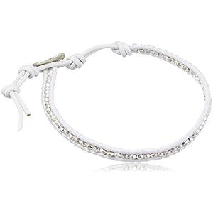 [チャンルー] CHAN LUU 公式 シルバーナゲット 1連ブレスレット BS-1025 WHITE BS-1025 WHITE 117411081209700