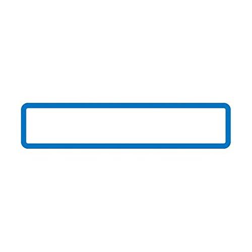 (業務用2セット) オキナ パリオシール 名札シール PS602 青10袋 ds-1913075