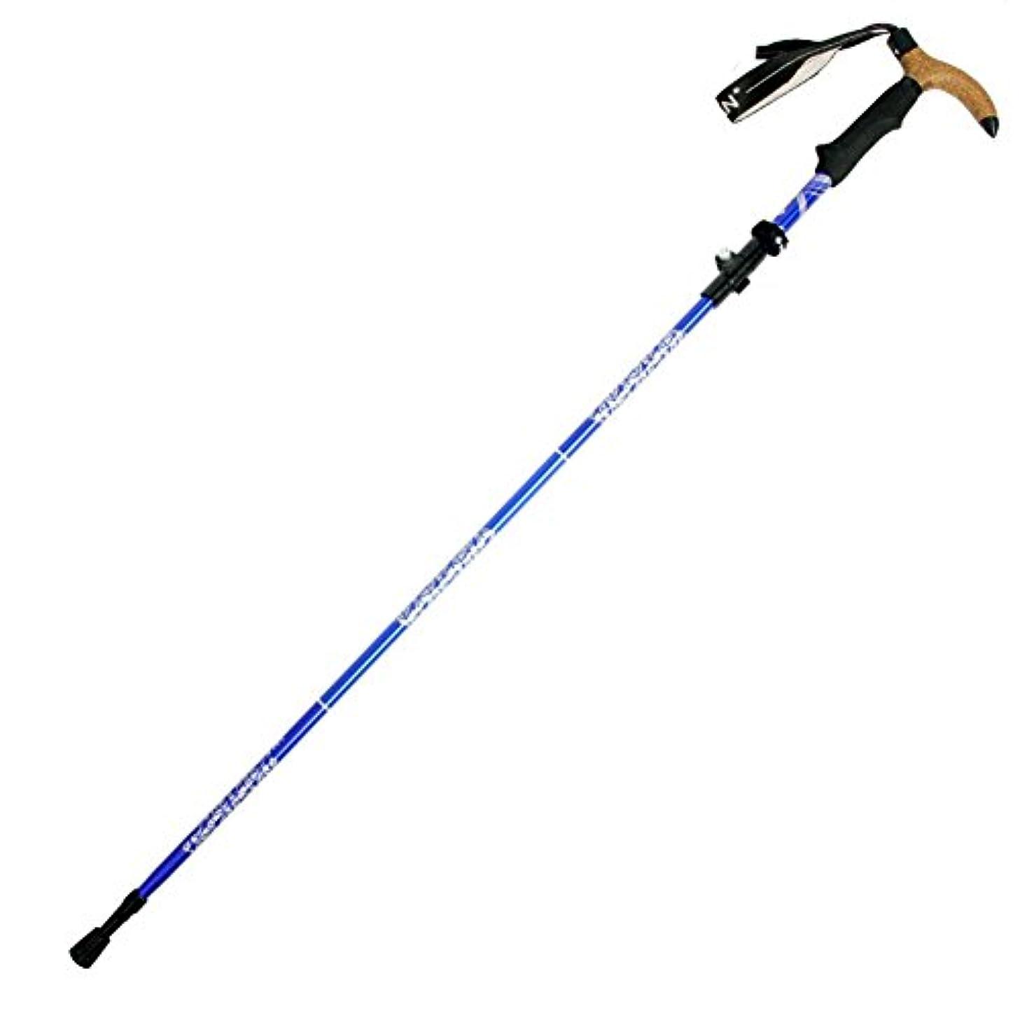 アクチュエータ深める追加折り畳みトレッキングポール, トレッキングポール コルク 登山 テレスコ ピック ハイキング 登山 機器 軽量 杖?ステッキ- 13inch