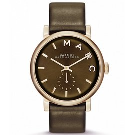 MARC BY MARC JACOBS[マークバイマークジェイコブス]MODEL NO.mbm1328 Baker ベイカー カーキ×ゴールド 腕時計 レディースウォッチ[並行輸入品]