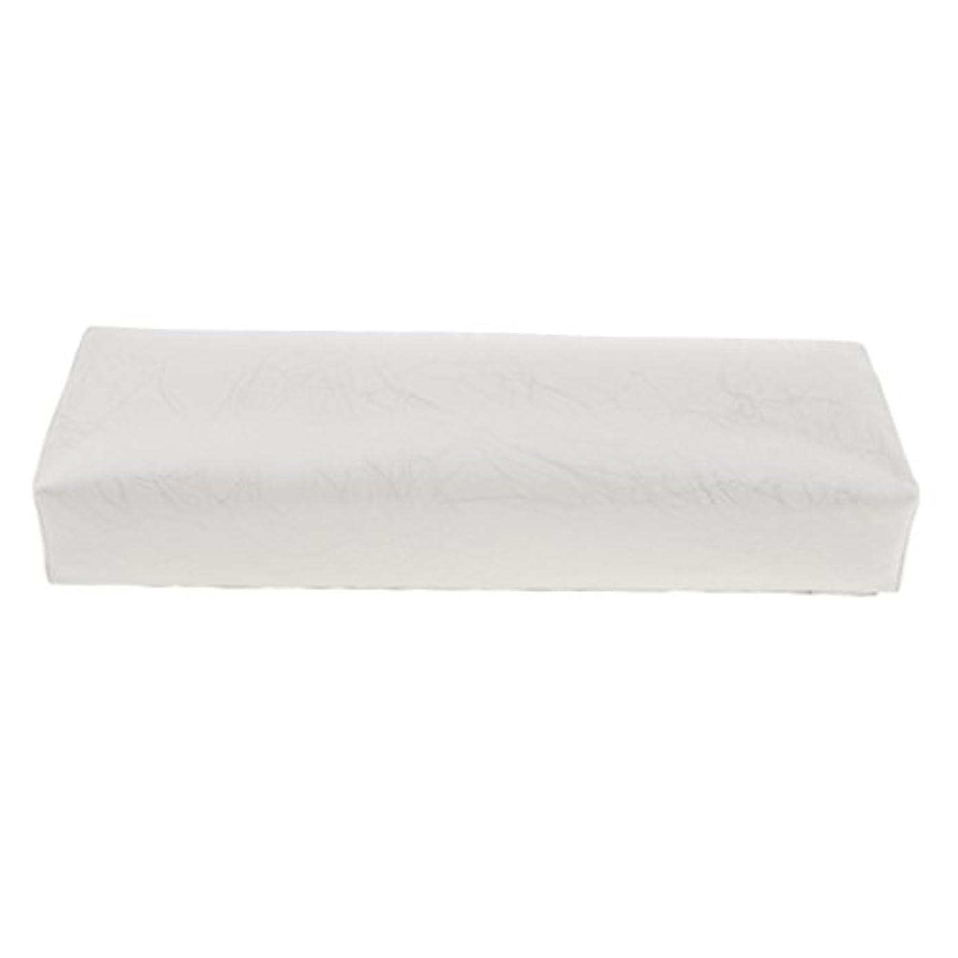 リファイン解読する名誉あるHomyl ハンドピロー ネイルアートピロー アームレストクッション ネイルアート デザイン ハンドレスト 全4色 - 白