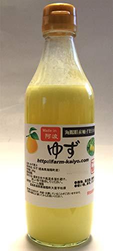 ゆず酢360ml 実生の柚子 手絞りゆず果汁100% 無添加 無塩ゆず酢 徳島 期間限定セール