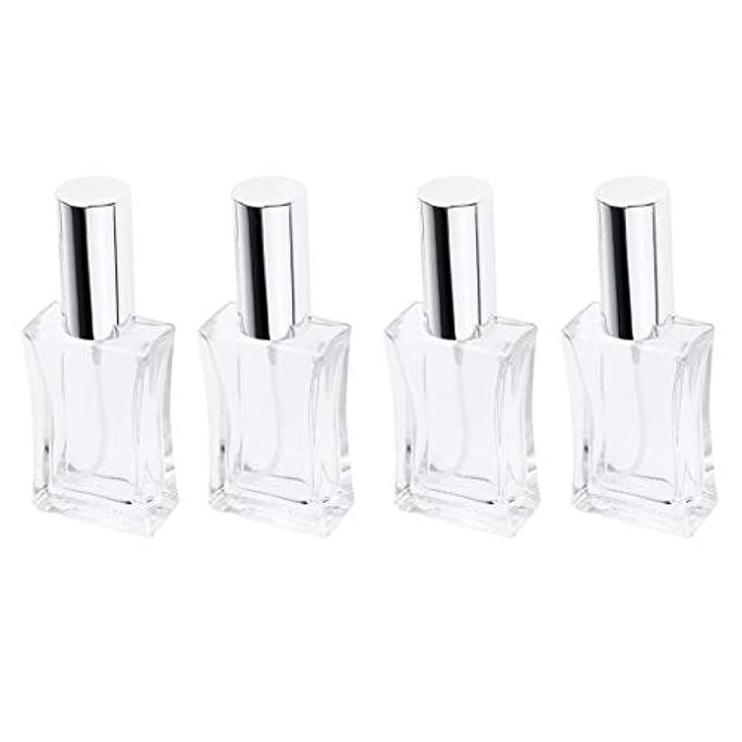 栄光のランチョン以下B Blesiya 4本 スプレーボトル ガラス 香水瓶 50ml