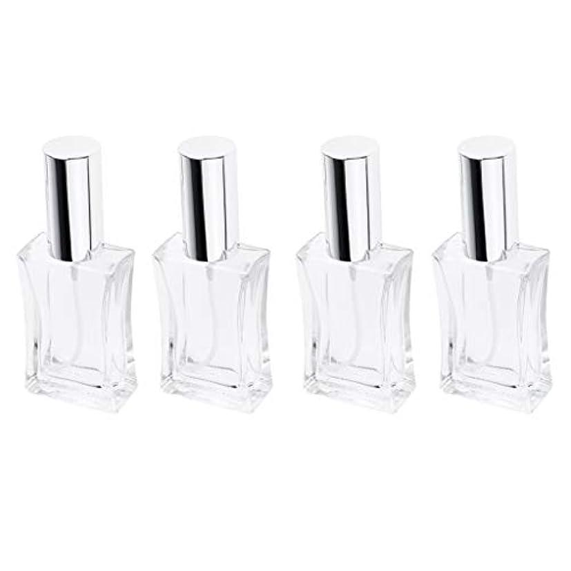 プーノ自由感謝B Blesiya 4本 スプレーボトル ガラス 香水瓶 50ml