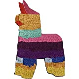 Llamas Rainbow Piñata - Sew Iron on, Embroidered Original Artwork - Patch - 2.1