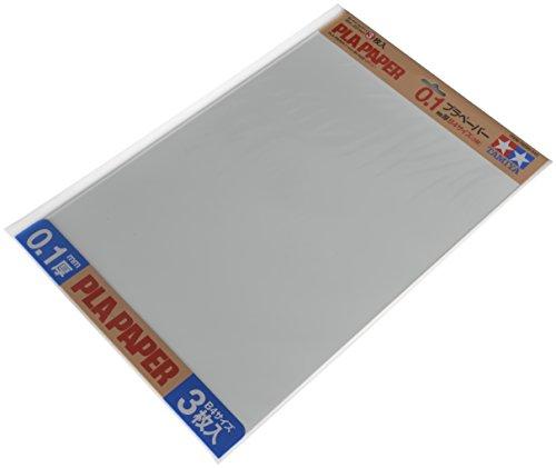 タミヤ 楽しい工作シリーズ No.208 プラペーパー 0.1mm厚 B4サイズ (3枚) 70208