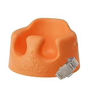 Bumbo バンボベビーソファー【正規総輸入元】後から付けられる専用腰ベルト入り オレンジ