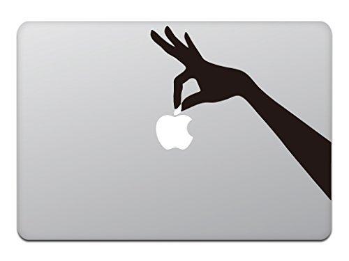 Macbook Air Macbook Pro ステッカー スキンシール ハンド ホールディング アップル Hand Holding Apple M596