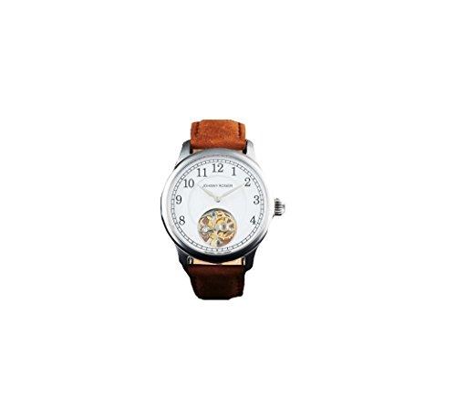 フライングトゥールビヨン JOHNNYROGER 本格 機械式 手巻き メンズ 腕時計 Ceramique