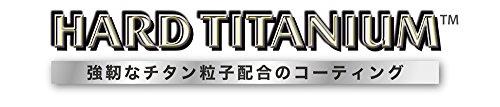 ティファール フライパン 29cm ガス火専用 「 ハードチタニウム ブラック フライパン 」 チタン 5層コーティング D47407 取っ手つき T-fal 【IH非対応】