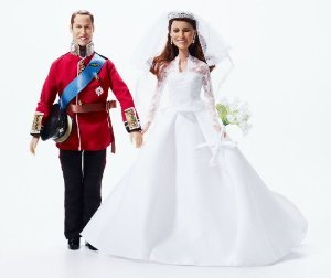 Royal Wedding Dolls | Princess Catherine Wedding Doll and Prince William Doll | Limited Edition 限定品 Kate Middleton... (並行輸入)