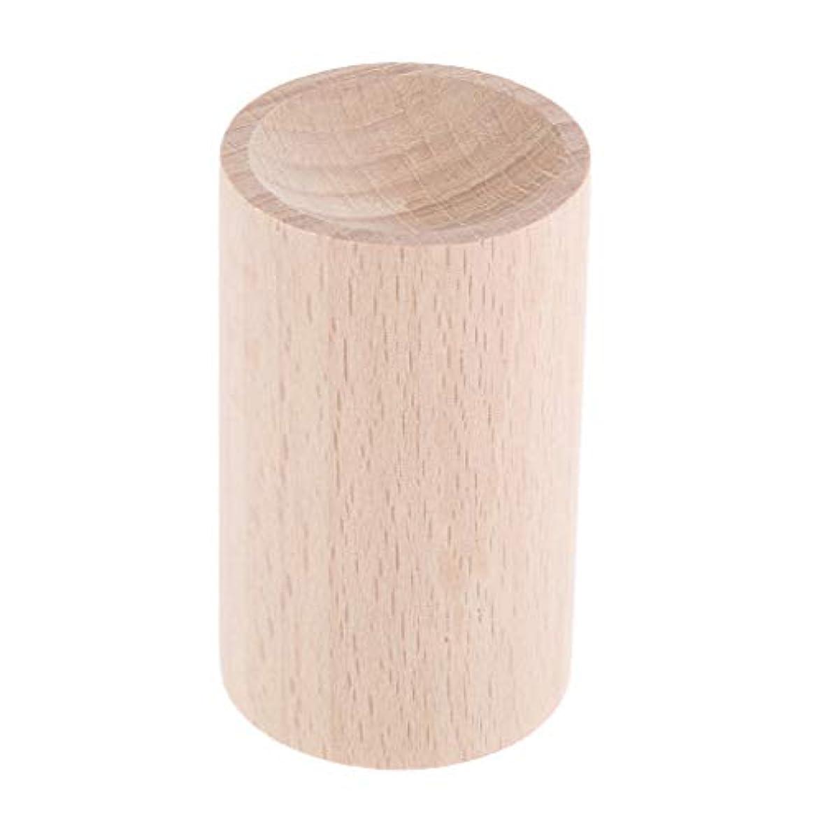 戦争叫ぶそこからD DOLITY 天然木 ハンドメイド 手作り 空気清浄 エッセンシャルオイル 香水 アロマディフューザー 2種選ぶ - 01, 3.2cm