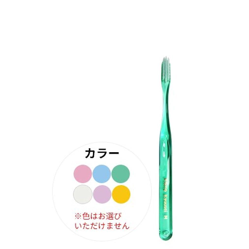 ラグヤギミシンP.D.R.(ピーディーアール) P.Grip(ピーグリップ)矯正用 四段植毛 歯ブラシ × 1本