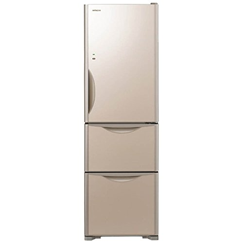 日立 真空チルド 冷蔵庫 まんなか野菜タイプ 右開き 315L クリスタルシャンパン R-S3200HV XN