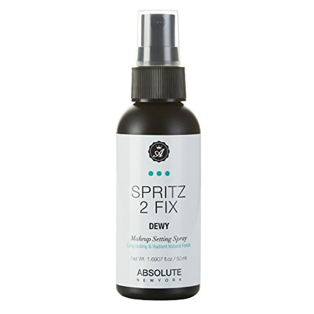 安西原子炉組み込む(3 Pack) ABSOLUTE Spritz 2 Fix Spray - Dewy (並行輸入品)