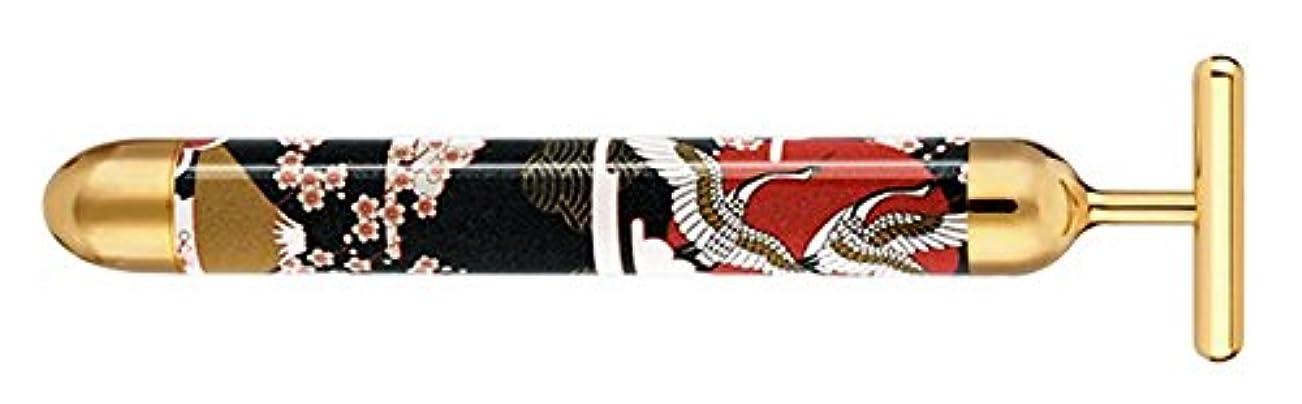ヘッジマントルバッチ京美24Kマジックゴールドバー  和柄(鶴)