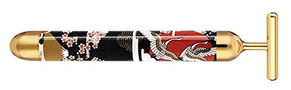 儀式恐怖症月曜日京美24Kマジックゴールドバー  和柄(鶴)