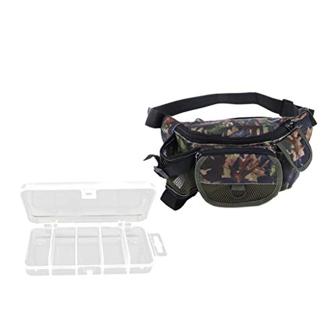 メッセンジャースツール独立Jiliオンライン釣りタックルバッグルアー疑似餌ボックススリングパックプラスチックギアボックスウエストバッグ