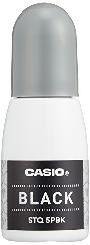 カシオ インク スタンプメーカー ポムリエ STQ-5PBK ブラック