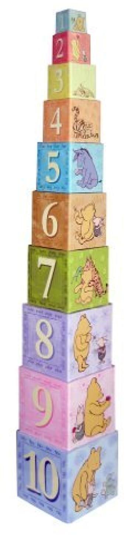 Stacking Nesting Blocks Classic Pooh 【You&Me】 [並行輸入品]