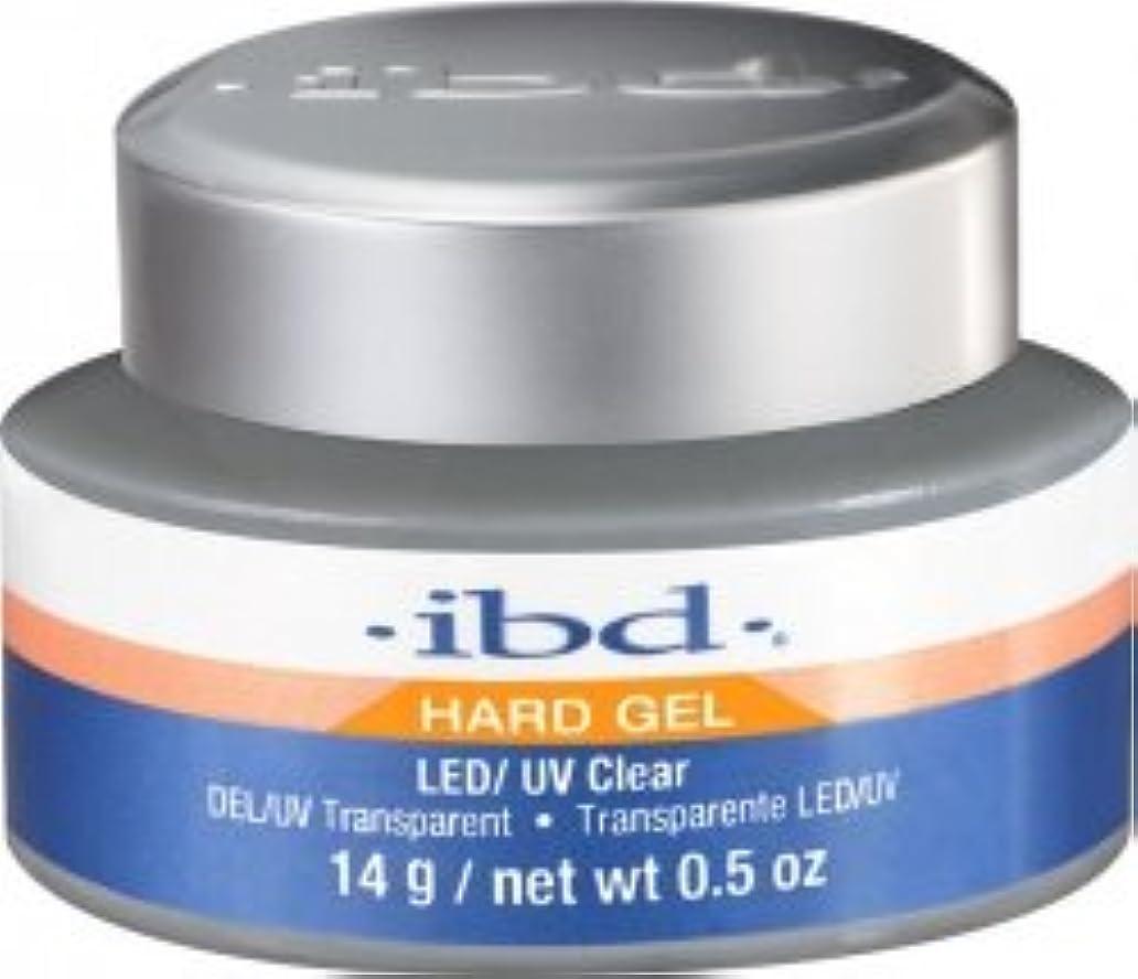 クリップ円周くぼみIBD LED/UV Clear Gel - .5oz 14g [並行輸入品]