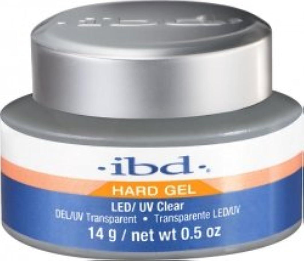 眠っているに向けて出発レザーIBD LED/UV Clear Gel - .5oz 14g [並行輸入品]