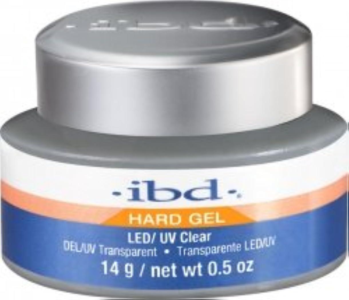 論文評議会面倒IBD LED/UV Clear Gel - .5oz 14g [並行輸入品]