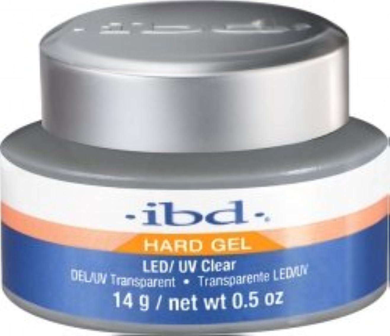 決定する芸術的体操IBD LED/UV Clear Gel - .5oz 14g [並行輸入品]